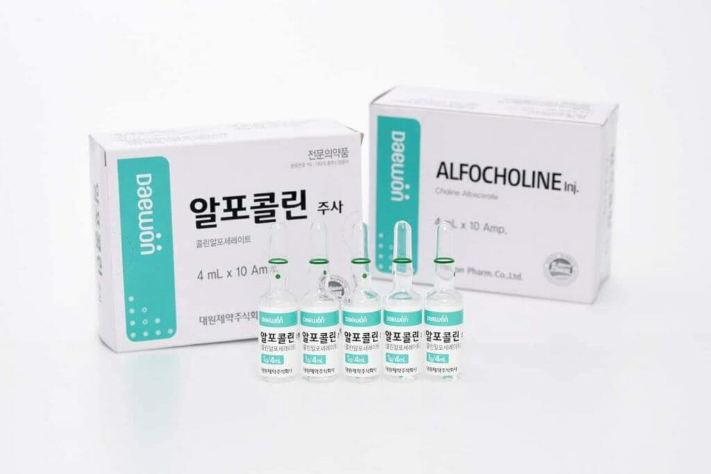 アルフォコリン注射